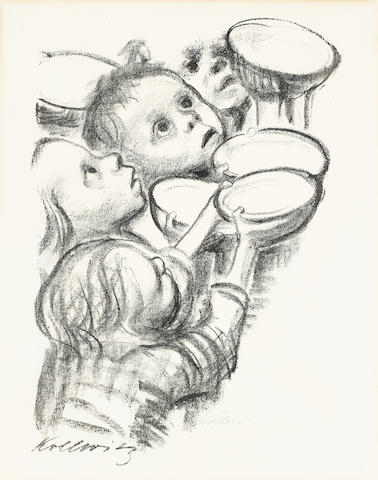 Kathe Kollwitz-Deutschlands Kinder Hungert-1923