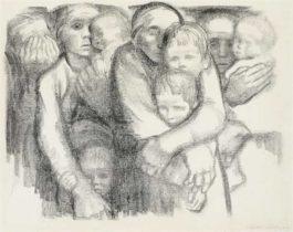 Kathe Kollwitz-Die Mutter-1919