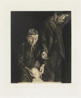 Kathe Kollwitz-Zertretene (the Downtrodden)-1900