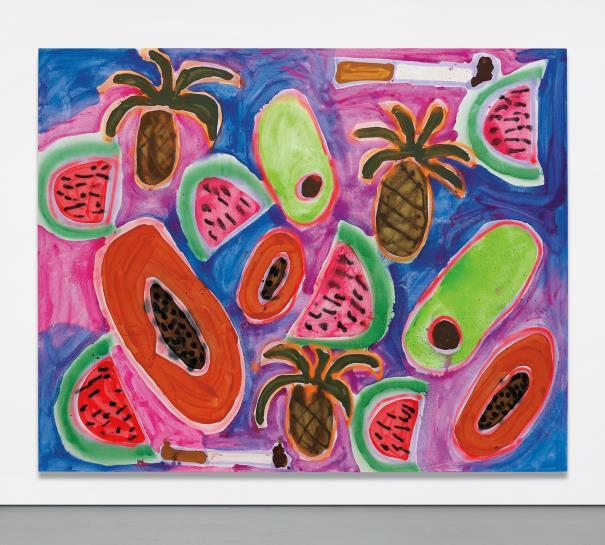 Katherine Bernhardt-Hawaiian Punch-2014