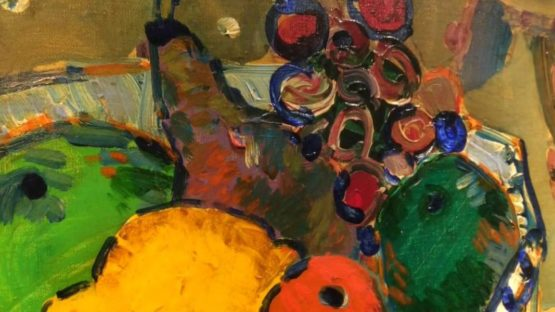 Kato Art Duo - Close Up Of Paul Aizpiri Artworks II