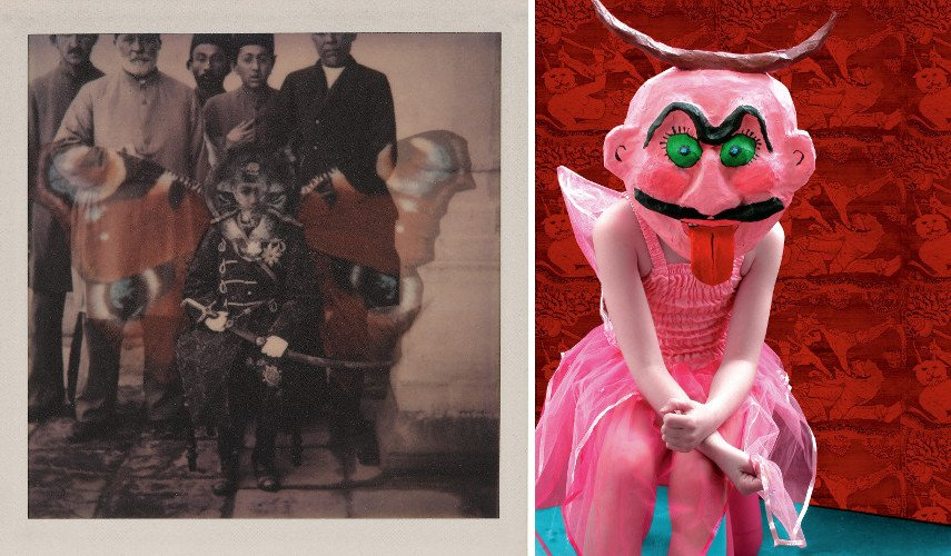 Kaveh Golestan - Untitled from the series Az Div o Dad, 1976 - Malekeh Nayiny - All in Pink, 2007