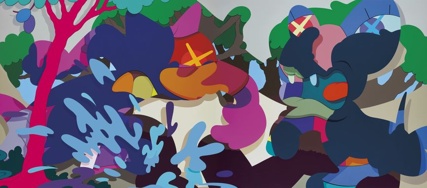 Kaws - Armed Away, 2012