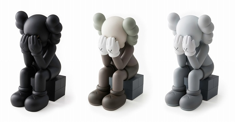 KAWS-Passing Through Companion (Black, Brown, Grey)-2013