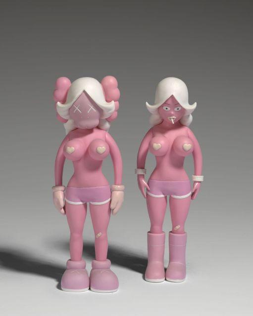 KAWS-The Twins (Pink)-2006