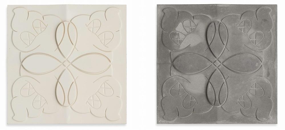 KAWS-Warm Regards (Tile)(White & Gray)-2006