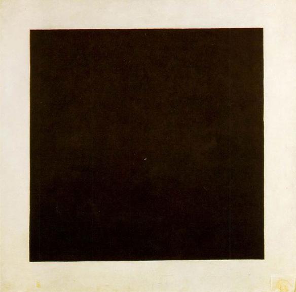 Kazimir Malevich - Black Square, 1924