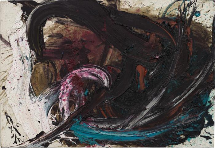 Kazuo Shiraga-Untitled BB64-1962