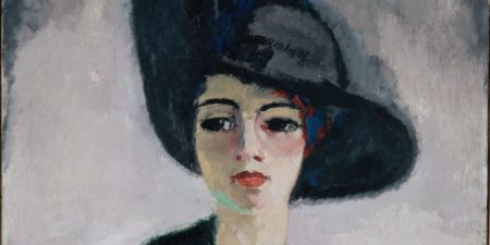 Kees van Dongen - Woman in a Black Hat (Detail) - Image Copyright State Hermitage Museum