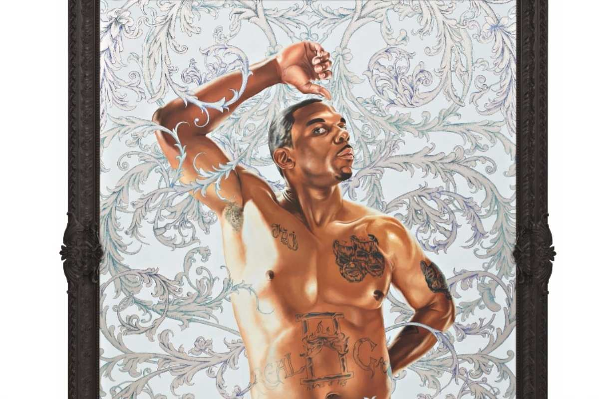 Kehinde Wiley art gallery men news