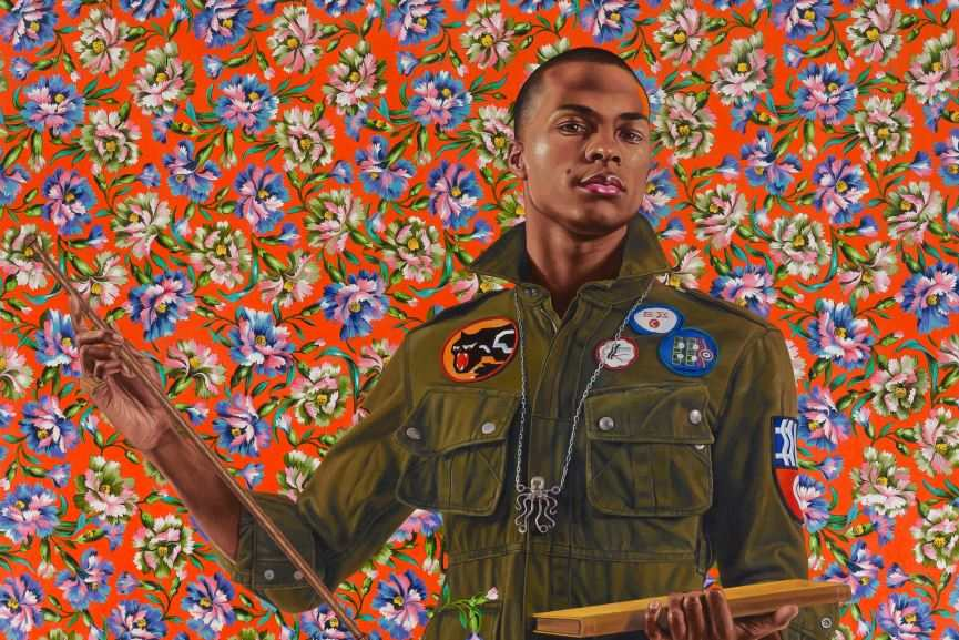 Kehinde Wiley old studio