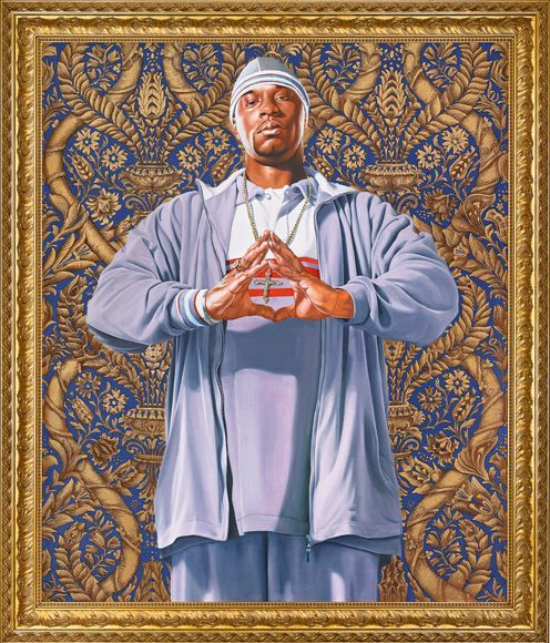 Kehinde Wiley-Baptism of Clovis-2005