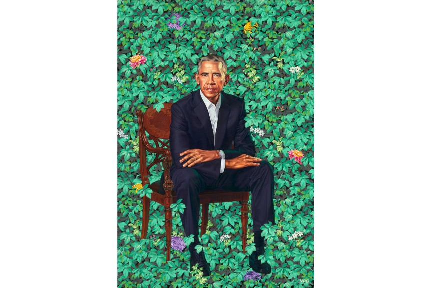 obama presidential portrait