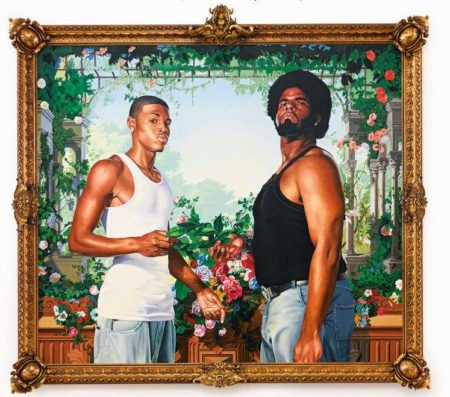 Kehinde Wiley-Charles I and Henrietta Maria (After Anthony Van Dyck)-2006