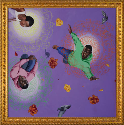 Kehinde Wiley-Easter Realness No. 3-2004