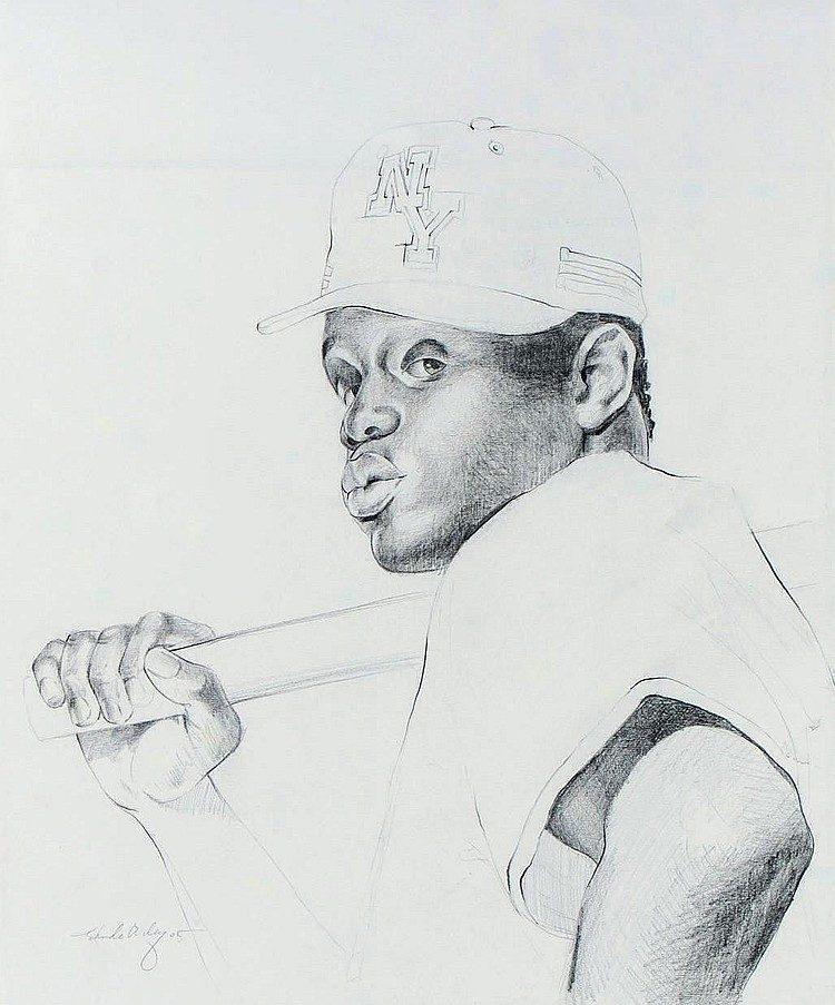 Kehinde Wiley-Investiture of Bishop Harold (Study, Variation III)-2005