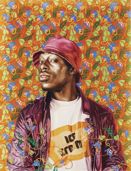 Kehinde Wiley-Malcolm Study-2009