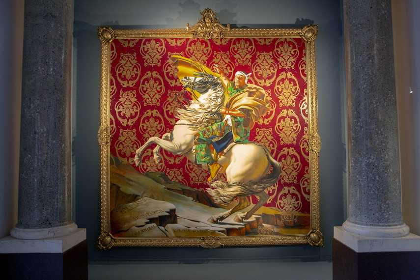 Kehinde Wiley - Napoleon Leading The Army over the Alps