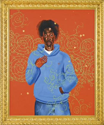 Kehinde Wiley-Passing on Posing-2003