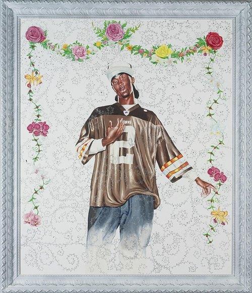 Kehinde Wiley-Passing/Posing (Female Prophet Maria) #3-2004