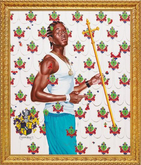 Kehinde Wiley-Passing/Posing (St. John the Baptist)-2005
