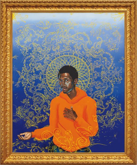 Kehinde Wiley-Passing/ Posing (The Reluctant Messiah)-2002