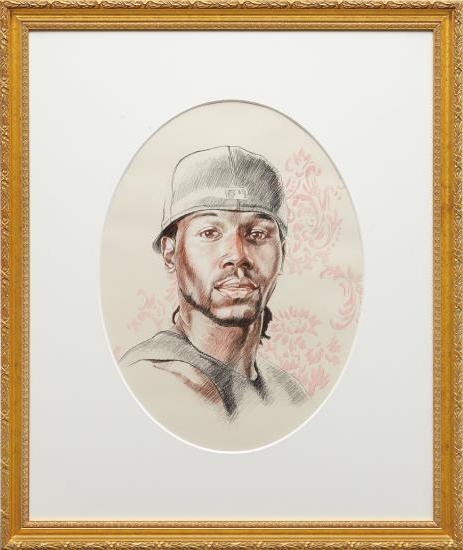 Kehinde Wiley-Passing/Posing Untitled 4-2005
