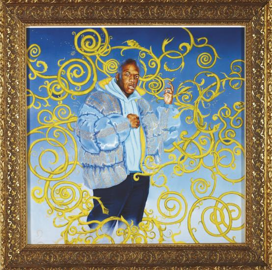 Kehinde Wiley-Passing/Posing-2003