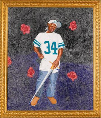 Kehinde Wiley-Passing/Posing-2004
