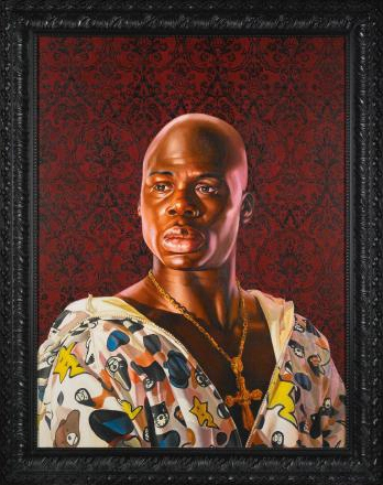 Kehinde Wiley-Portrait Bust of Cardinal Richelieu-2009