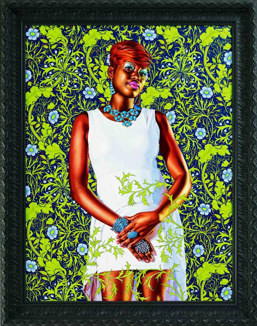 Kehinde Wiley - Portrait of a Lady