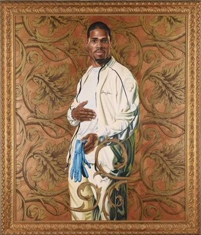 Kehinde Wiley-Portrait of a Lady-2006