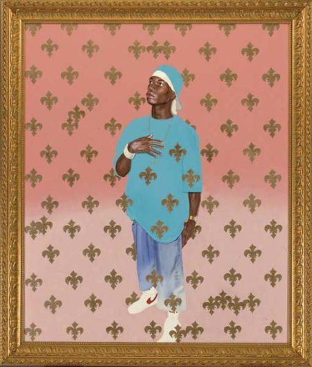 Kehinde Wiley-Saint Francis of Paola-2003