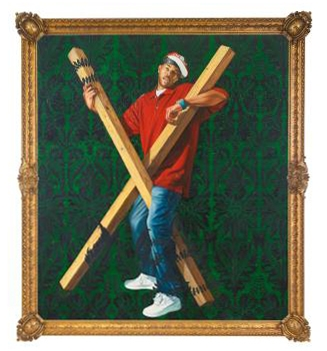 Kehinde Wiley-St. Andrew-2010