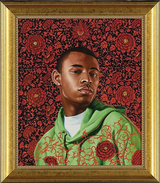 Kehinde Wiley-Thomas Armory I-2006