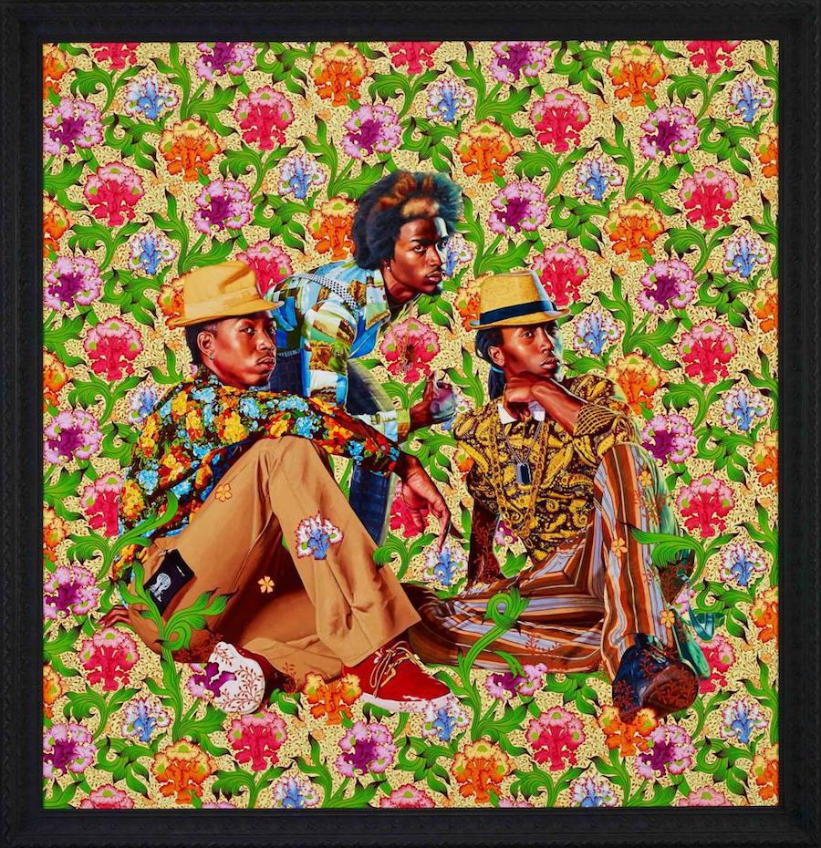 Kehinde Wiley - Three Boys