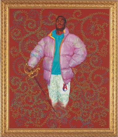 Kehinde Wiley-Untitled (Red)-2004