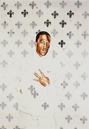 Kehinde Wiley-Untitled - West Side-2004