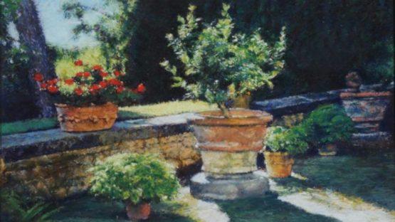 Keith Bowen - Flower Pots (detail)