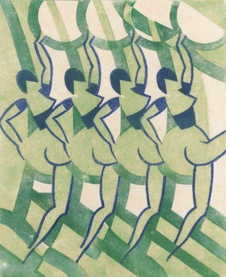 Keith Gillett-Cabaret Dancers-