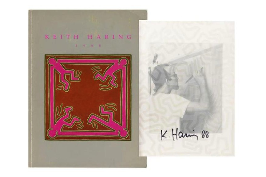 Keith Haring - 1988 Exhibition Catalogue (Martin Lawrence Limited Editions)