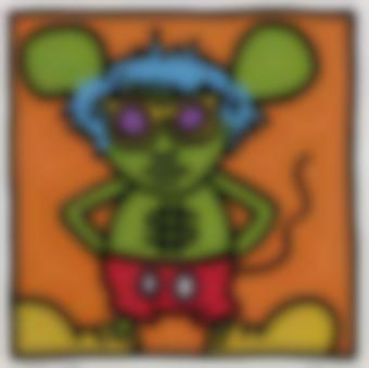 Keith Haring-Andy Mouse (L. P. 64-65)-1986