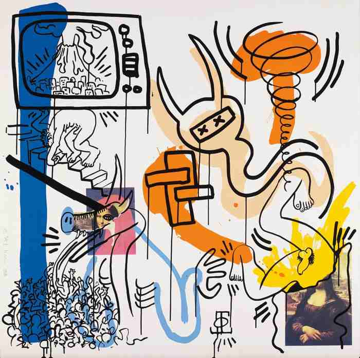 Keith Haring-Apocalypse: One Plate-1988
