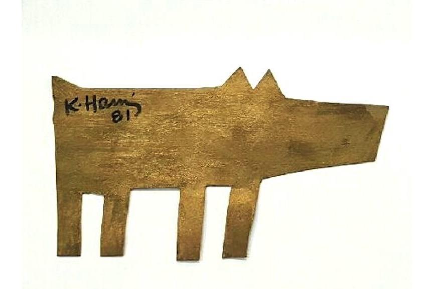 Keith Haring - Dog, 1981