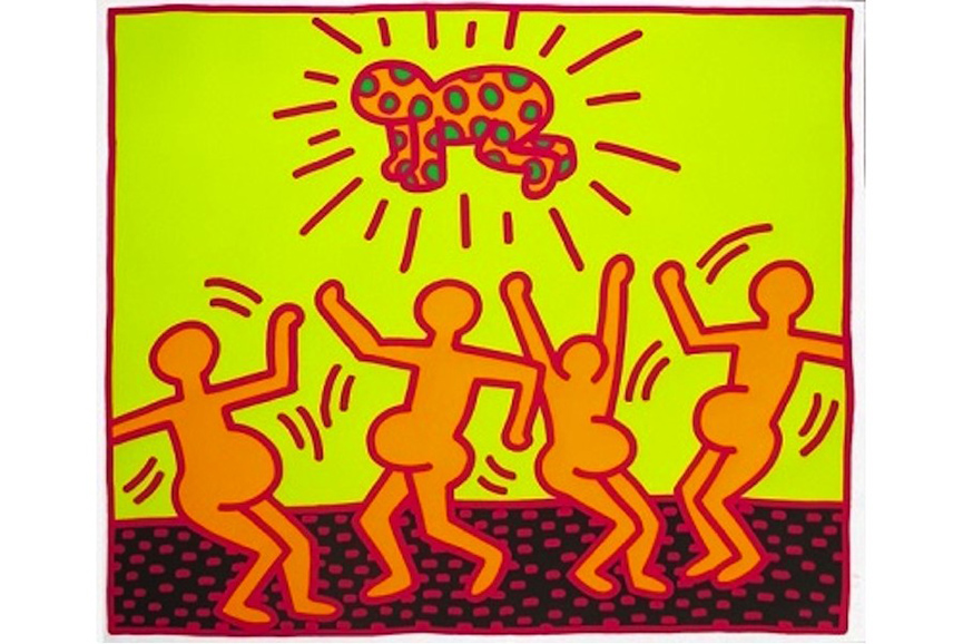 Keith Haring - Fertility 1, 1983