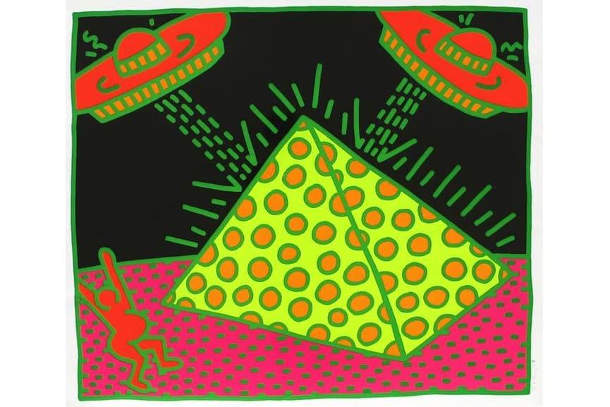 Keith Haring - Fertility #2, 1983