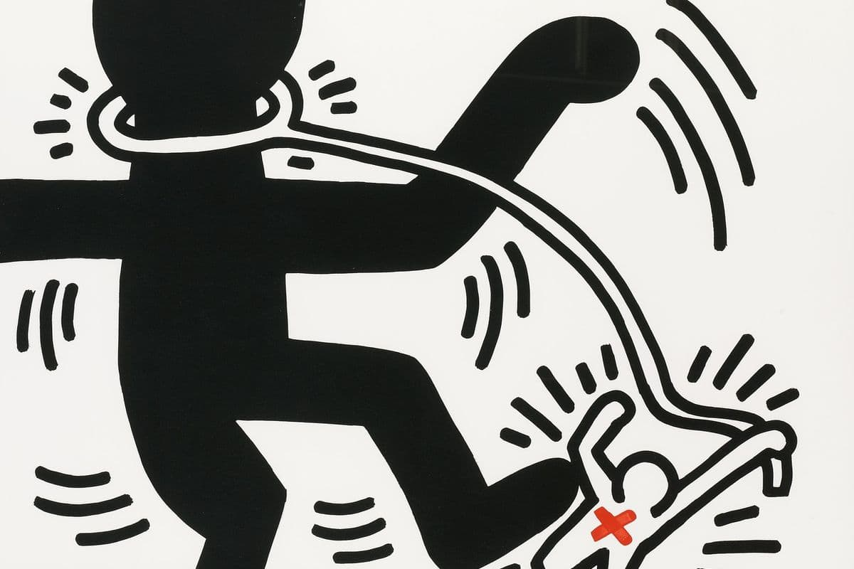 Free South Africa (detail), 1985