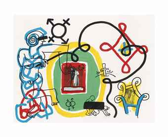 Keith Haring-Freud Drawings-1989