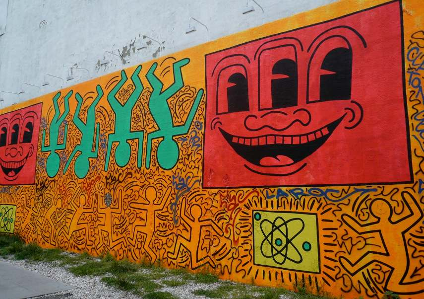 Keith Haring - Houston Bowery Street - New York, 1982 (2)