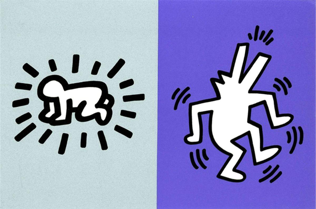 Keith Haring - Memorial Tribute Invitation, 1990
